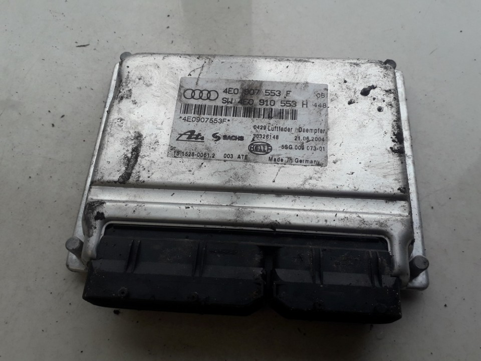 AIR SUSPENSION CONTROL MODULE AIRMATIC Audi A8 2006    3.0 4E0907553F
