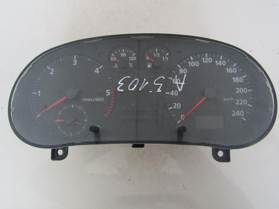Spidometras - prietaisu skydelis Audi  A3