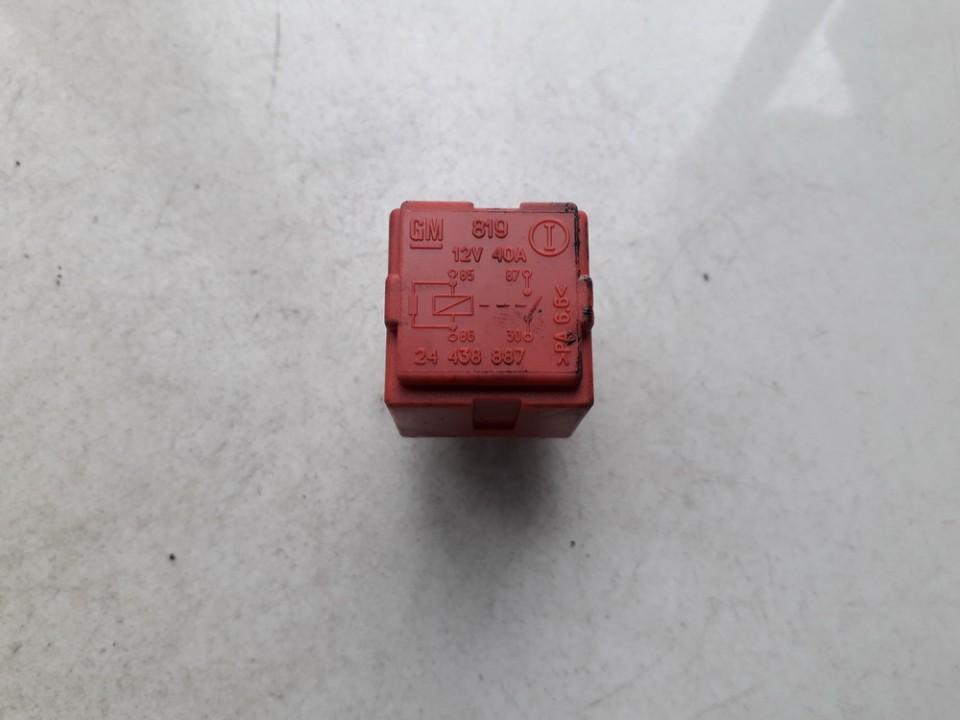 Rele 24438887 gm819 SAAB 9-3 2005 2.2