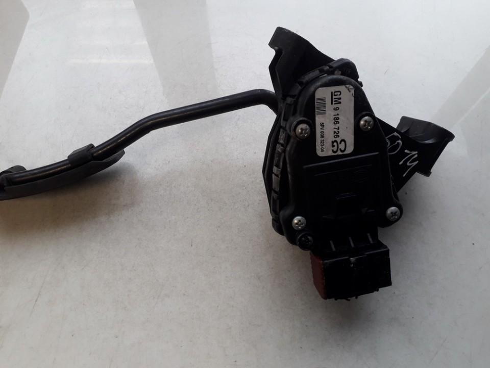 Elektrinis greicio pedalas 9186726cg 9186726, 6pv008323-00, 6pv00832300 SAAB 9-3 2005 1.9
