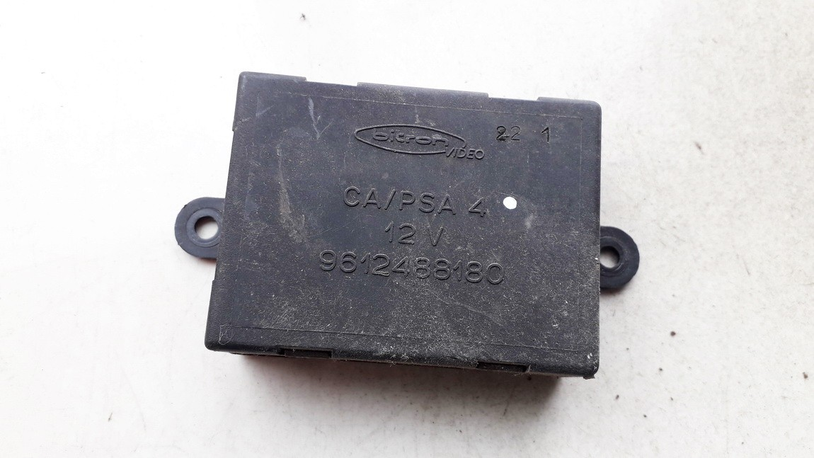 Electric window control unit Peugeot 806 1998    0.0 9612488180