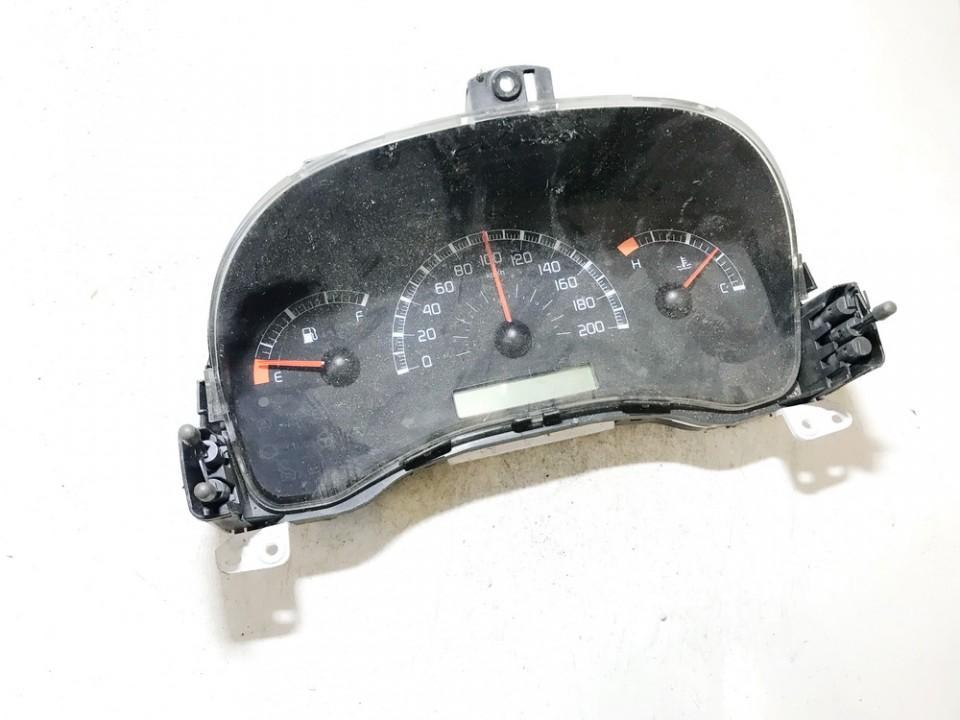 Spidometras - prietaisu skydelis 46801565 used Fiat PANDA 2006 1.1