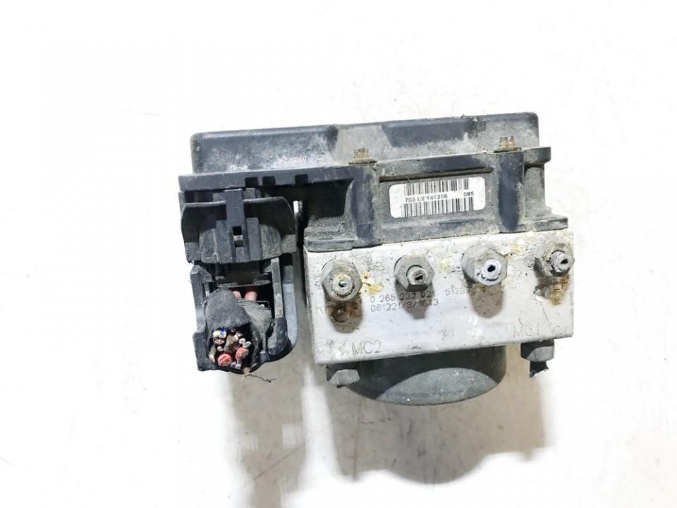 ABS blokas 0265232021 51799595, 0265800673 Fiat PANDA 2006 1.1