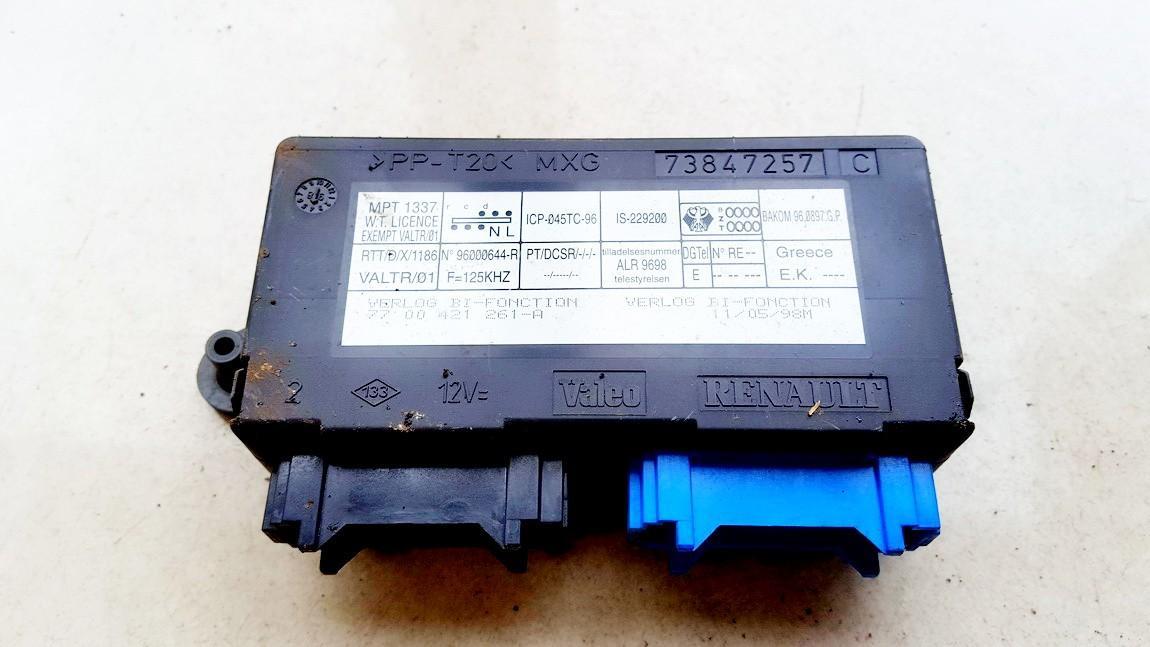 Komforto blokas 73847257C 7700421261-a Renault LAGUNA 2003 2.2