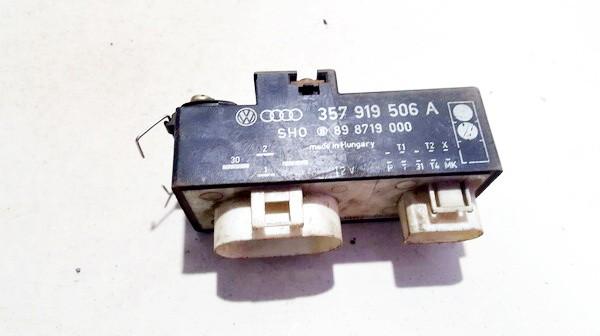 Ventiliatoriaus valdymo rele 357919506a 8 8719 00 Volkswagen GOLF 1998 1.9