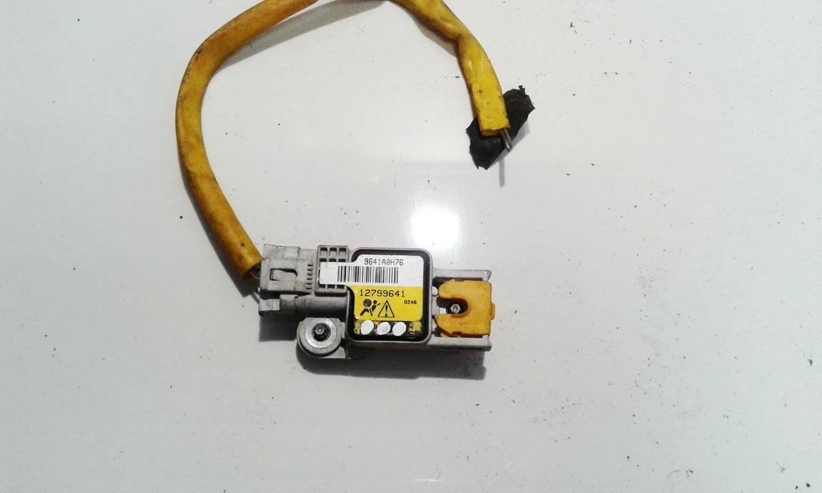 Srs Airbag daviklis 12799641 9641A0H76 SAAB 9-3 2006 2
