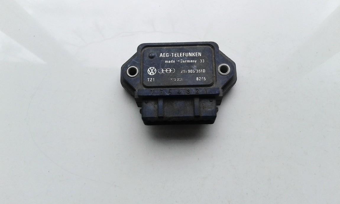 Audi  80 Komutatorius