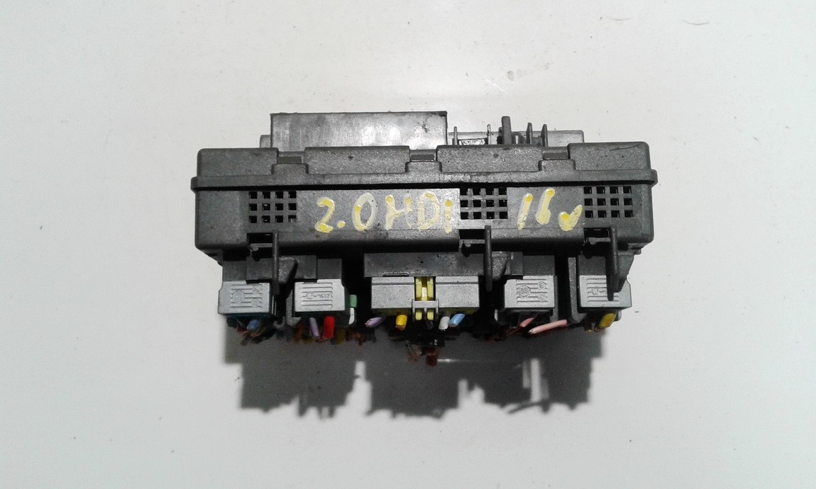 Citroen  Jumpy Fuse box