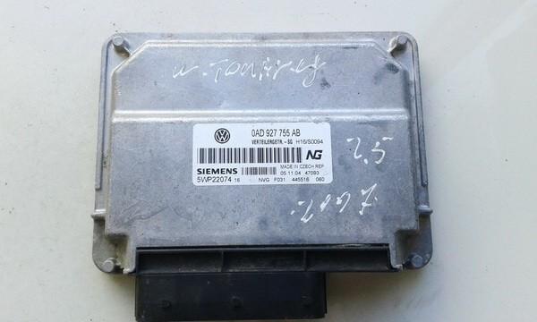 TRANSFER CASE CONTROL MODULE UNIT Volkswagen Touareg 2004    5.0 0AD927755AB