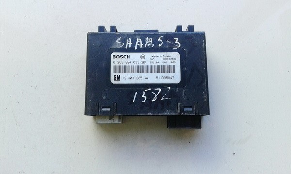 Parktroniku kompiuteris 0263004033 12803285AA SAAB 9-3 2004 2.0