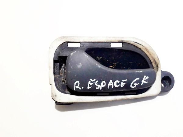 Ручка двери внутренняя задний левый 7700816564 used Renault ESPACE 1990 2.1