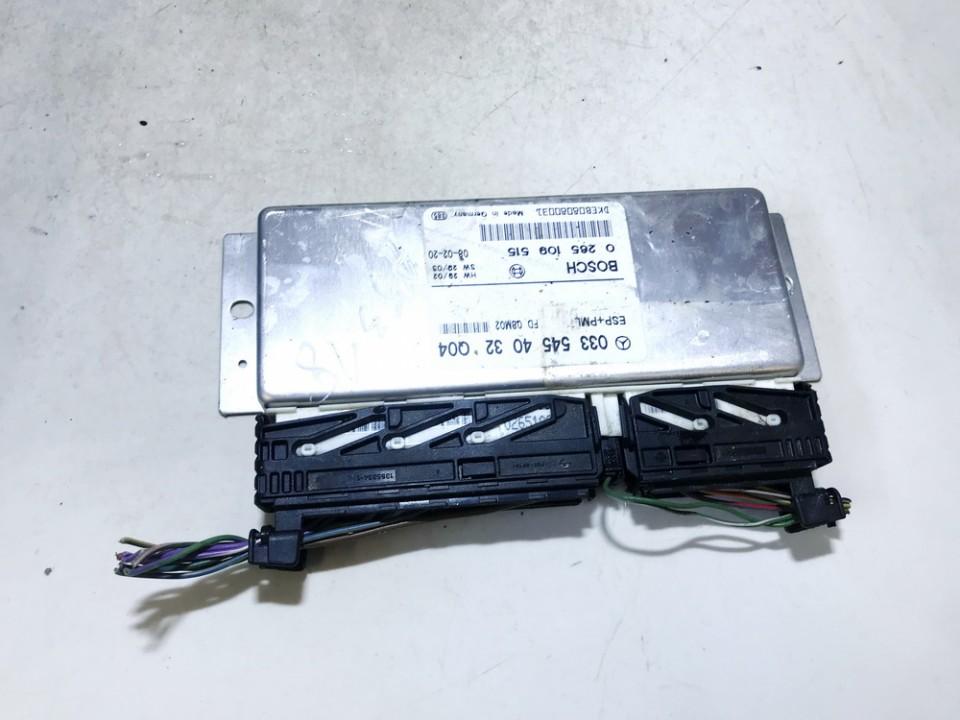 ESP kompiuteris 0335454032 0265109515 Mercedes-Benz E-CLASS 1999 2.7