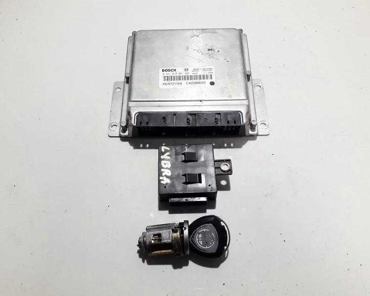 Engine Management ECU Kit Lancia Lybra 2002    2.4 0281010001