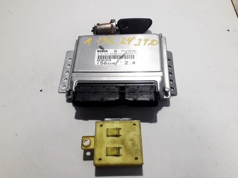 Engine Management ECU Kit Alfa-Romeo 156 2000    2.4 0281010336
