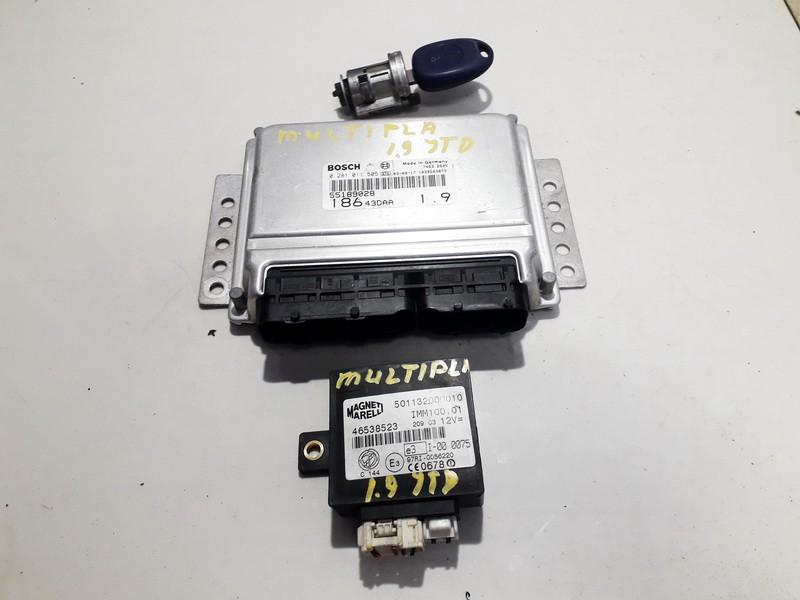 Engine Management ECU Kit Fiat Multipla 1999    1.9 0281011505
