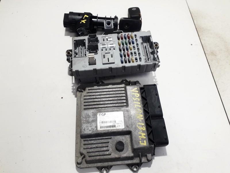 Engine Management ECU Kit Lancia Ypsilon 2006    1.3 55195819