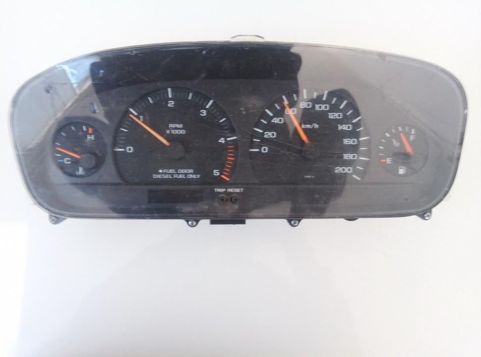 Spidometras - prietaisu skydelis p04685629ab used Chrysler VOYAGER 2001 2.5