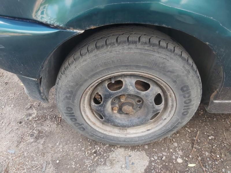 Skardiniu ratu komplektas R13 Volkswagen Polo 1996    1.4 used