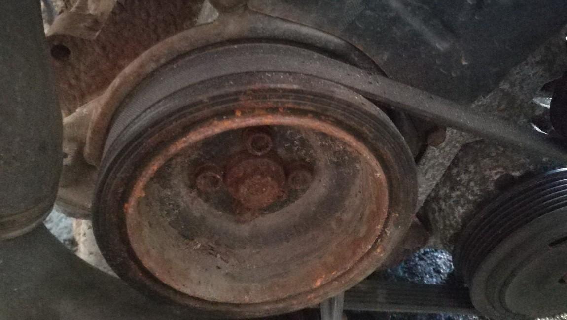 Skoda  Roomster Crankshaft Belt Pulley
