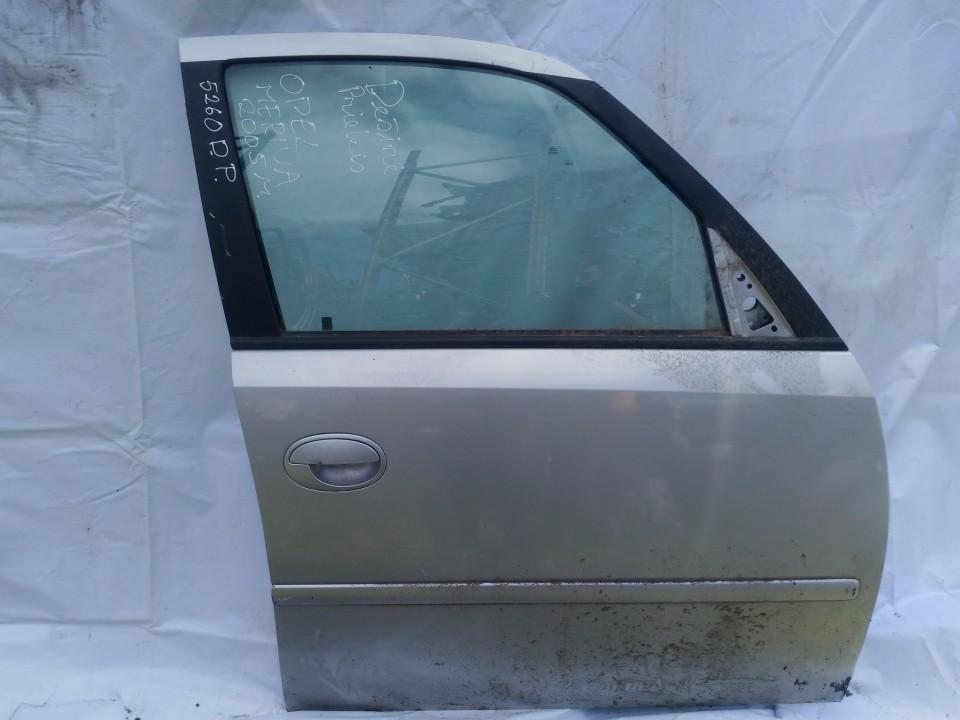 sidabrine used Durys P.D. Opel Meriva 2005 1.3L 27EUR EIS00860419
