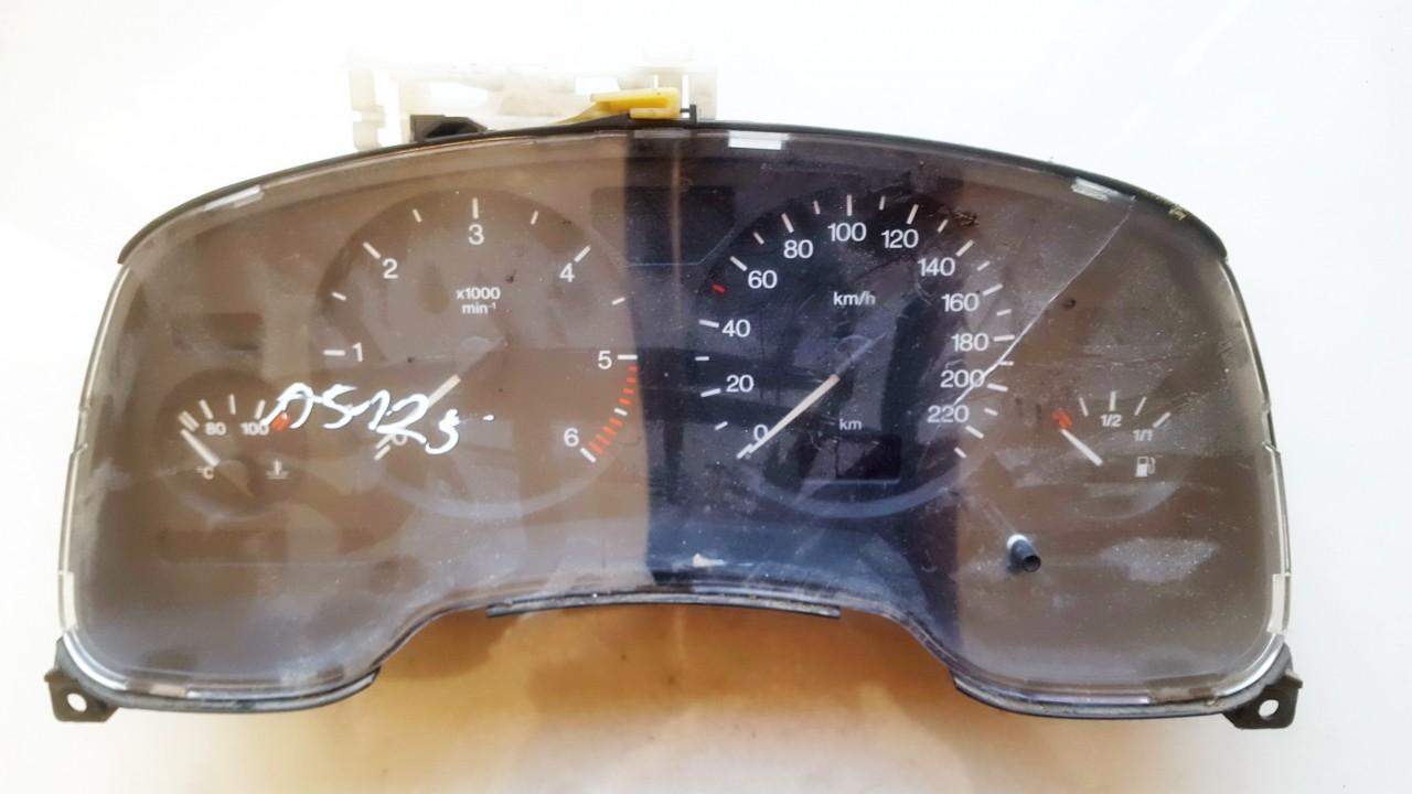 Opel  Astra Spidometras - prietaisu skydelis