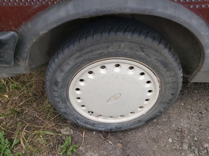 Skardiniu ratu komplektas R13 Ford Fiesta 1986    1.6 used