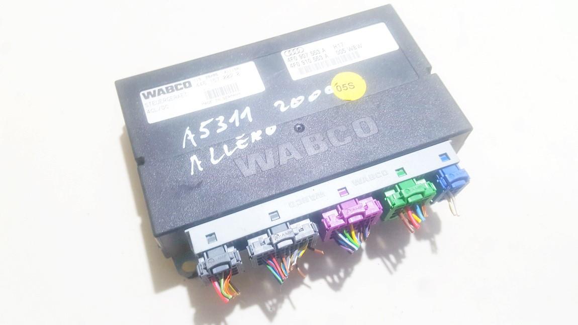 AIR SUSPENSION CONTROL MODULE AIRMATIC Audi Allroad 2006    2.7 4f0907553a