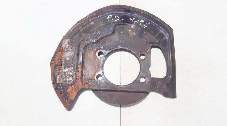 Stabdziu disko apsauga priekine desine (P.D.) Nissan Qashqai 2008    2.0 used
