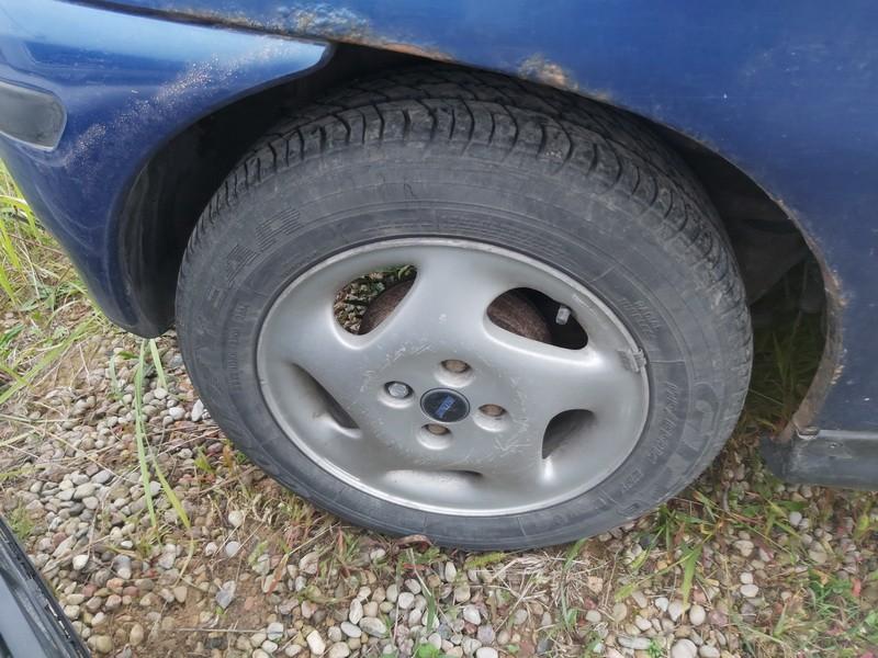 Lietu ratu komplektas R14 Fiat Punto 1999    1.2 used
