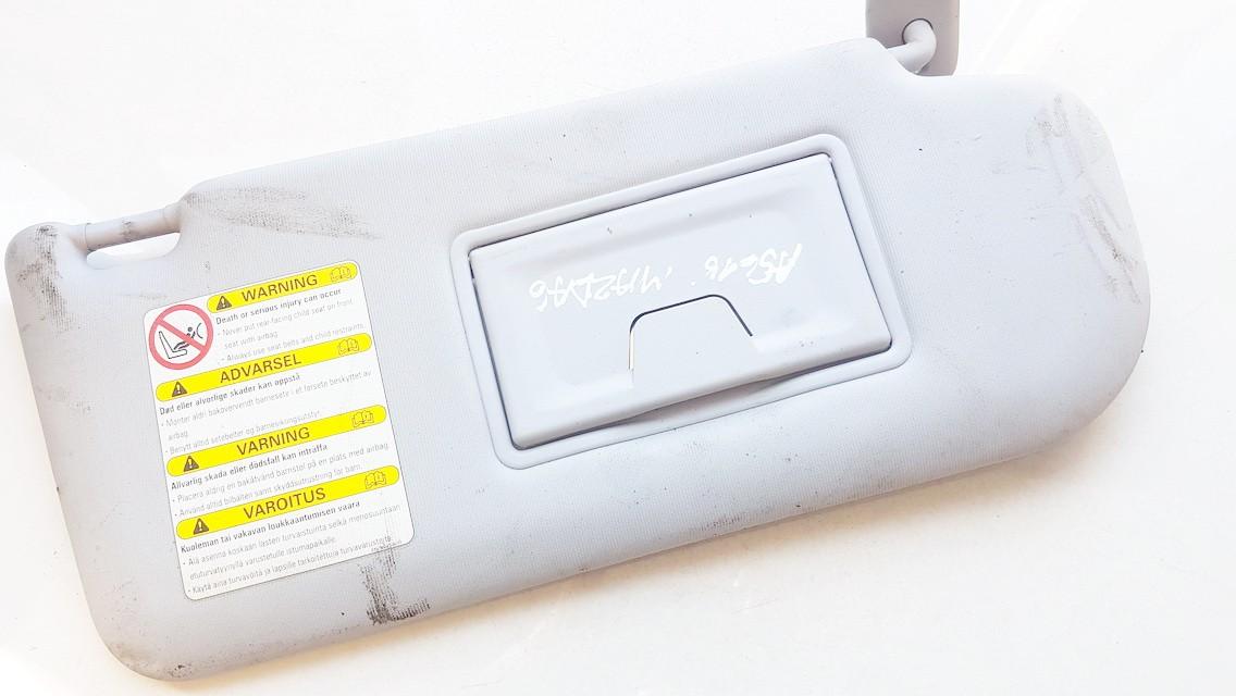 Mazda  6 Apsauga nuo saules