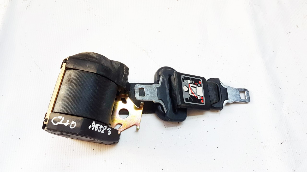 Renault  Clio Seat belt - rear right side