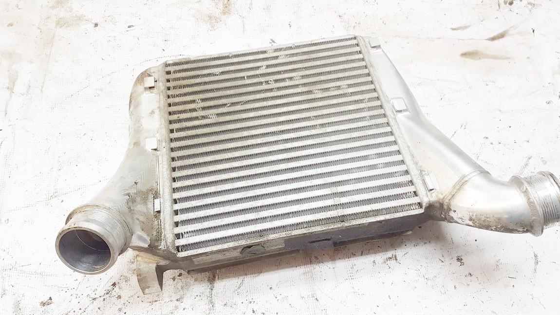 Intercooler radiator - engine cooler fits charger 4l0145803 used Audi Q7 2006 3.0