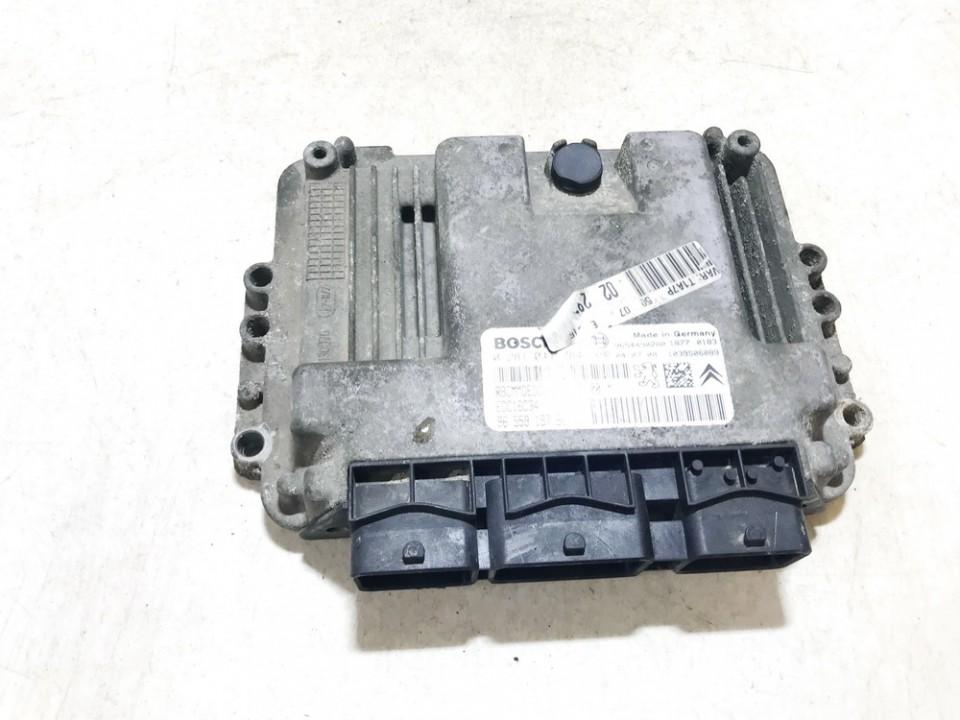 Peugeot  206 ECU Engine Computer (Engine Control Unit)