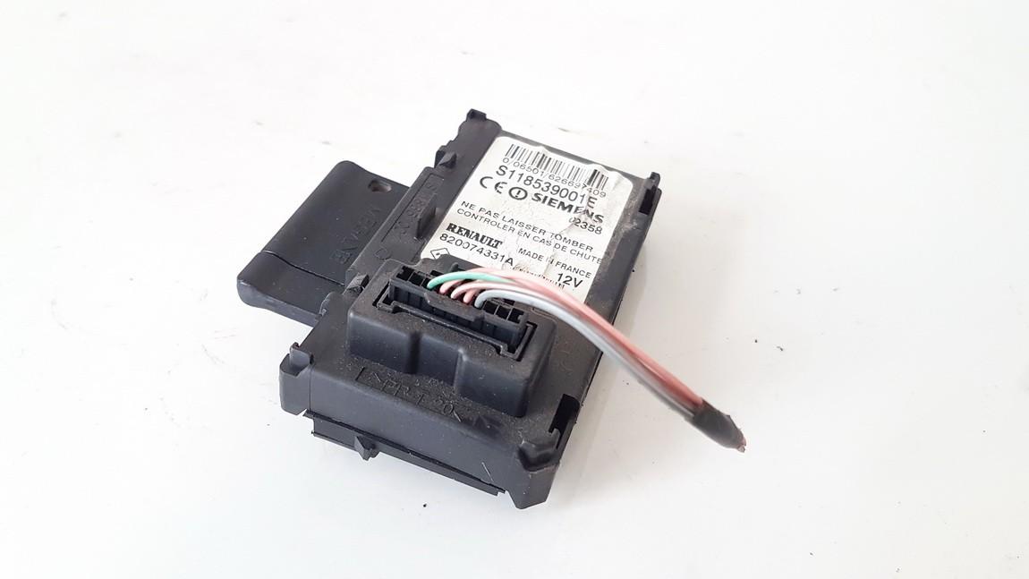 Key Card Reader (CARD READER IGNITION LOCK) Renault Megane 2003    1.5 s118539001e