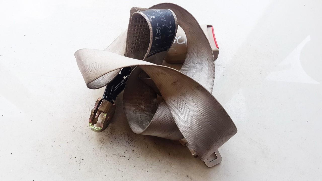 Ответная часть ремня безопасности - задний правый 1J0857487A USED Volkswagen GOLF 2013 1.2