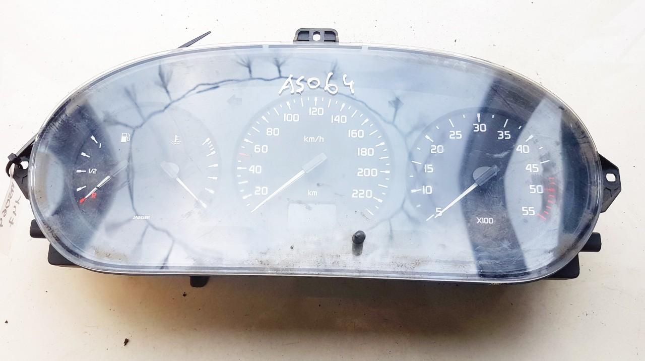Spidometras - prietaisu skydelis Renault  Scenic