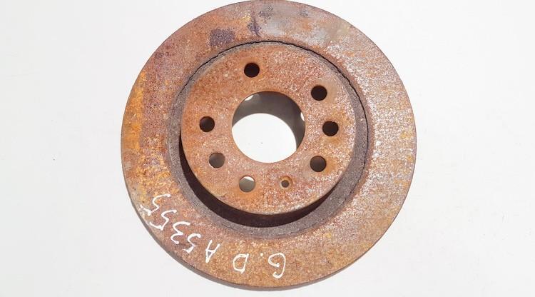 Тормозной диск - задний neventiliuojamas used SAAB 9-3 1998 2.2