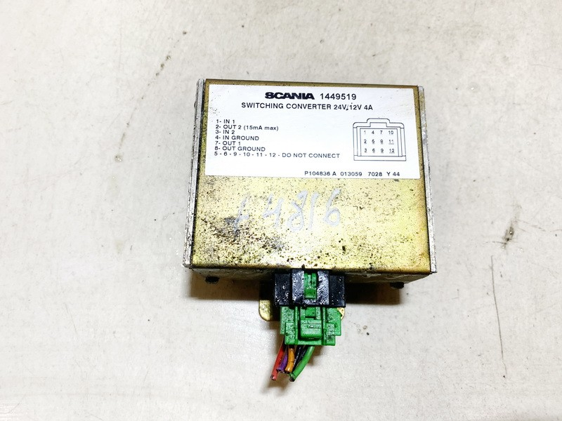 Voltage Converter Truck -Scania 124L 2000    0.0 1449519