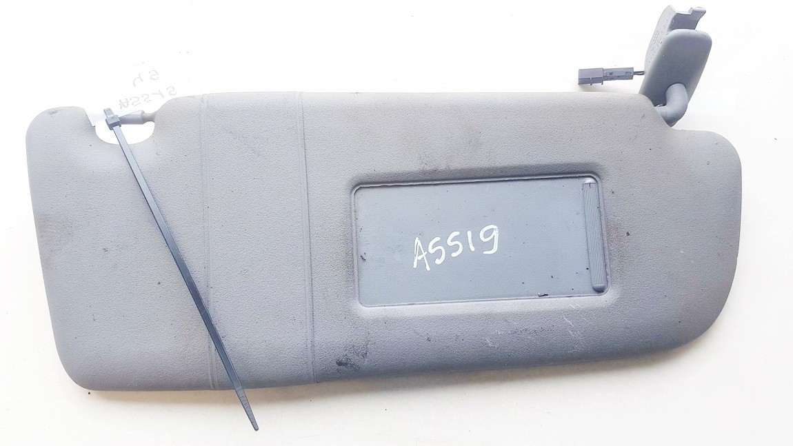 Audi  A4 Sun Visor, With Light and Mirror and Clip