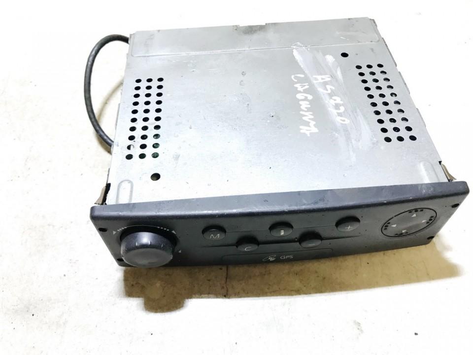 Navigation module (Navigation system) Renault Laguna 2002    1.9 8200138590a