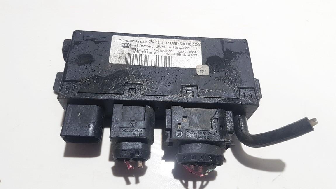 ESP Control Unit Mercedes-Benz ML-CLASS 2001    2.7 A1635454932