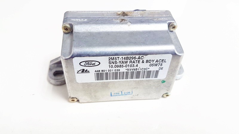 Esp Accelerator Sensor (ESP Control Unit) 2m5t14b296ac 10.0985-0103.4 Jaguar XJ 2006 4.2