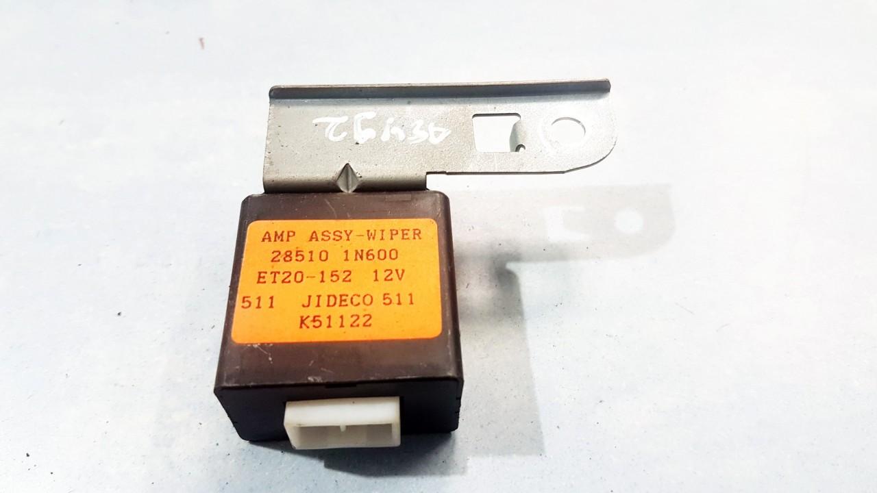 Wiper wash control (wiper relay) Nissan Almera 1997    1.6 285101N600