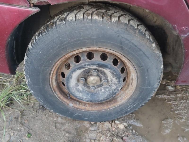 Skardiniu ratu komplektas R13 Renault Megane 1996    1.4 used