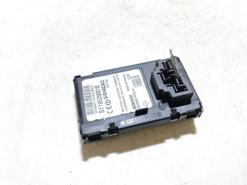 Key Card Reader (CARD READER IGNITION LOCK) Renault Megane 2003    1.9 8200074331a