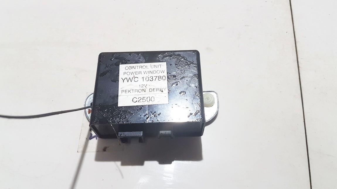 Electric window control unit Rover 25 2001    1.4 YWC103780