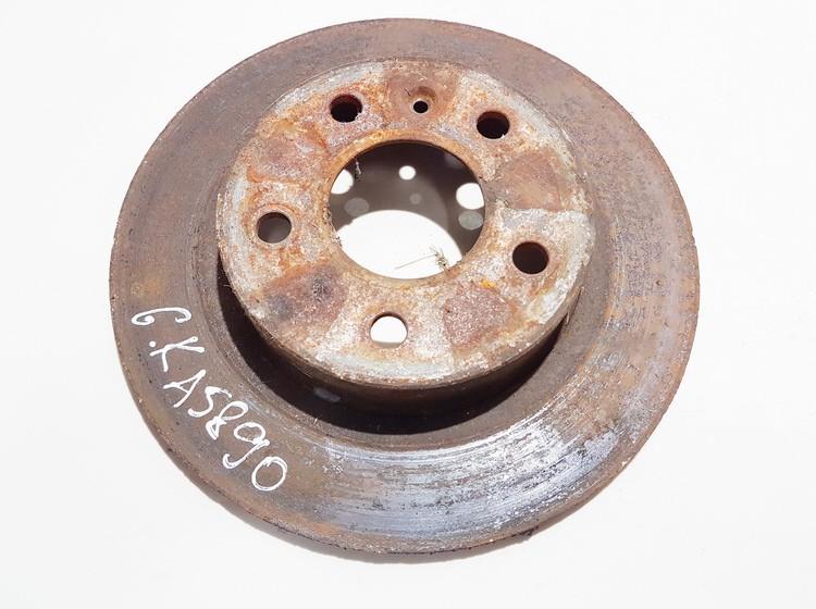 Galinis stabdziu diskas neventiliuojamas used Opel ASTRA 1999 2.0