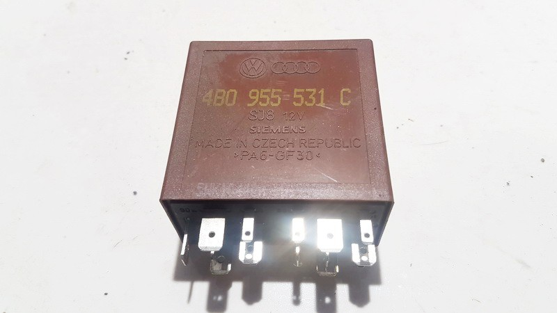 Wiper wash control (wiper relay) Skoda Superb 2005    2.0 4B0955531C