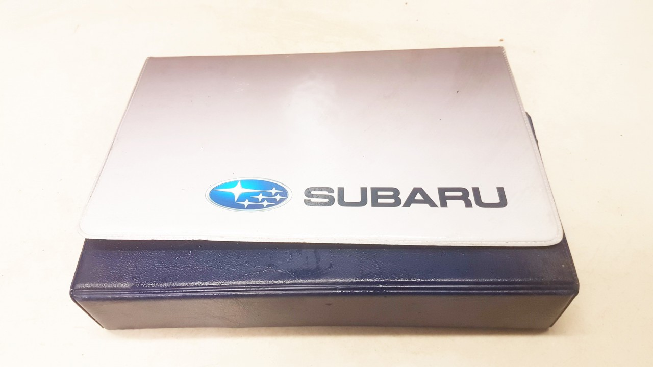 Manual Handbook Wallet (service manual) Subaru Outback 2011    2.0 USED