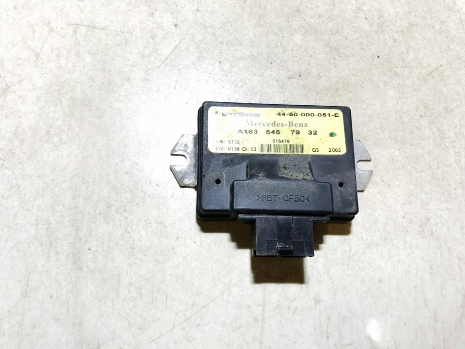 TRANSFER CASE CONTROL MODULE UNIT Mercedes-Benz ML-CLASS 2004    4.0 a1635457932